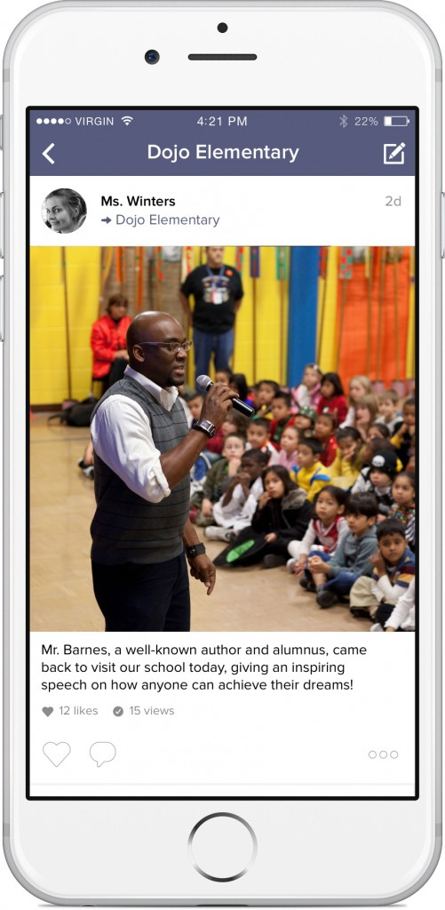 ClassDojo School Story example